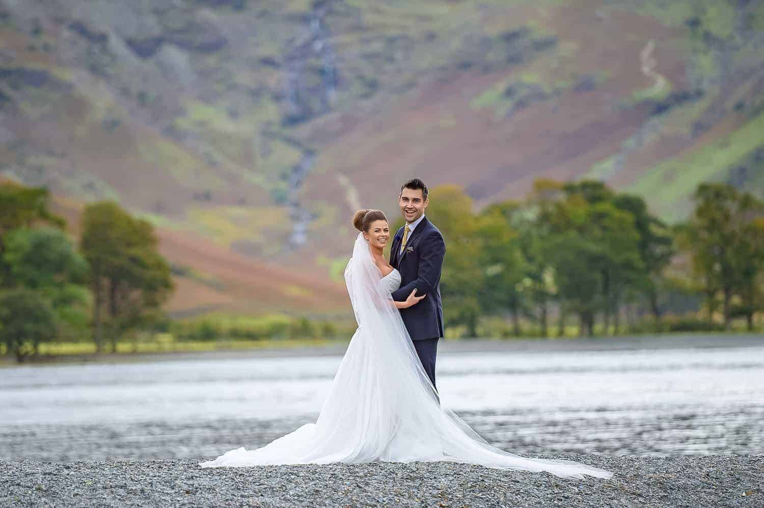 Lake District Wedding Ladore Falls Hotel Borrowdale Keswick Cumbria wedding photographer Glasgow Edinburgh Lake district