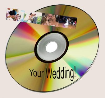 Wedding DVD slideshow of your favourite images from your Big day